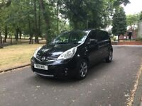 2011 NISSAN NOTE N-TEC DCI 1.5 DIESEL **SAT NAV + ONLY £20 A YEAR ROAD TAX + FSH + DRIVES GREAT**