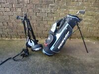 Junior Golf Clubs - Dunlop with Bag and Trolley. suitable for ages 5 - 9 depending on the child