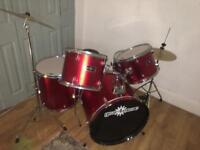 Gear4music 7 piece drum kit