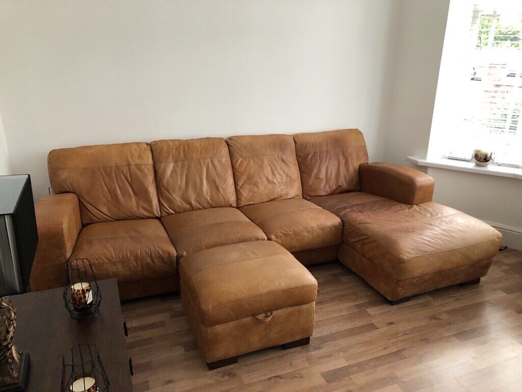 Wondrous Caesar 4 Seater Sofa With Chaise And Footstool Dfs In Failsworth Manchester Gumtree Gmtry Best Dining Table And Chair Ideas Images Gmtryco