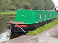 'Rosetta' 53' Narrowboat For Sale.