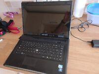 Advent Laptop 3gb ram 320hd 15 inch screen webcam win 7