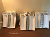 Recess Commercial Tube Lights for Offices/Retail Stores - Excellent Condition