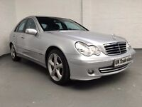 2006 MERCEDES C220 DIESEL SALOON AUTOMATIC ***FULL YEARS MOT***
