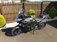 Yamaha MT09 Tracer ABS with full Akropovic factory fitted exhaust!