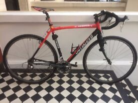 """Specialized max slx -s works 56"""" bike for sale, great commuter-super lightweight, dura ace gears"""
