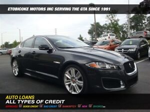2014 Jaguar XF XFR/WOW ONLY 48000 KM/  RED INTERIOR
