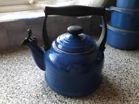Le Creuset whistling stove kettle