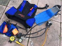 @@BUNDLE OF DIVING EQUIPMENT, RALF TECH, SEA QUEST@@