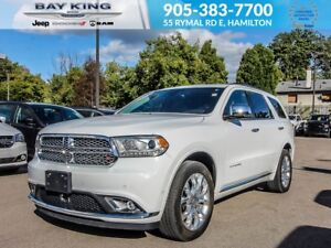 2018 Dodge Durango AWD, SUNROOF, REMOTE START, BACKUP CAM, HEATE