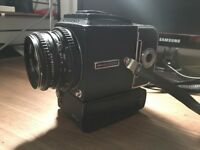 Hasselblad 500 E/LM with back and 80mm lens