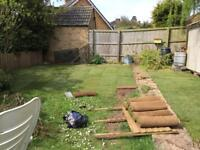 Lawn maintenance. Mowing, strimming edging and turfing