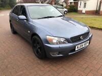 Lexus IS200 2ltr sport 6 Speed manual 87000 miles FSH