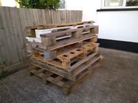 5 wooden pallets (FREE)