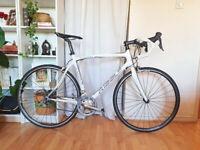 Ribble Sportive Bianco Full Carbon Road Racing bike 56cm Shimano Sora 18 spd - Serviced