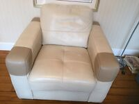 Dfs leather chair