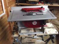 Einhell TC- HC 820 benchtop rif saw