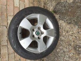 Spare wheel for Skoda Fabia