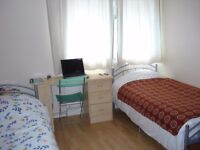 Large Twin Room in House Share EAST ACTON Available