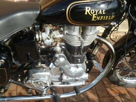 Royal Enfield 350 Bullet, 2008, Less than 4,500 miles, Long MOT, Immaculate