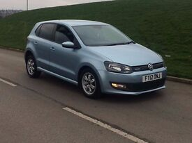 2012 Volkswagen Polo 1.2 TDI BlueMotion Tech 5dr diesel**new shape**high miles**full history