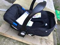 brand new never used mothercare carseat/carrier