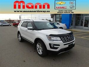2016 Ford Explorer Limited - Low km, Sunroof, Remote start, Heat