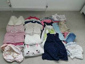 Girls Clothes Bundle 9-12mth