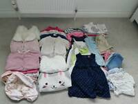 Girls Clothes Bundle 9-12mth