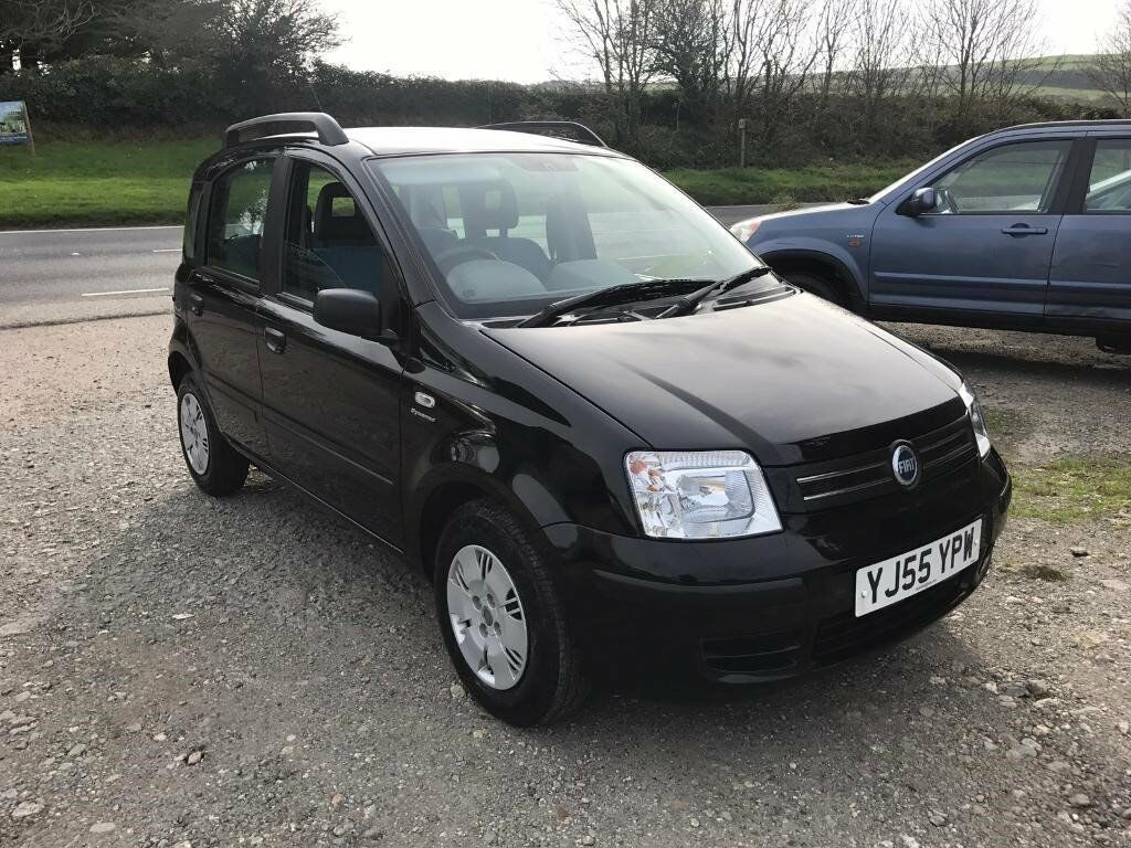 FIAT PANDA DYNAMIC 1.2 SEMI-AUTO BLACK 5DR 2005 ONLY 38,000 MILES