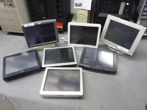 LOT OF 7 LCD SCREEN TOUCH DISPLAY