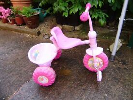 Tricycle, trike x 2, good condition