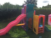 Little Kids climbing frame with slides