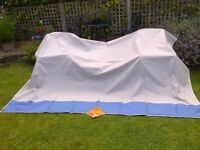 Sun Awning size 300 wide x 200 deep. (Isabella Shadow)
