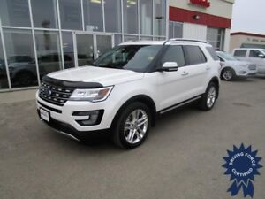 2016 Ford Explorer Limited 4WD w/Dual Pnl Moon Rf, 2nd Row Bkts