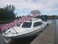 Shetland 536 cabin cruiser boat