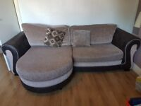 Large 4 seater lounget from DFS