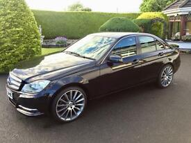 MERCEDES C220 AUTO, 2012 NEW MODEL, LEATHER INTERIOR **FINANCE FROM £50 PER WEEK**