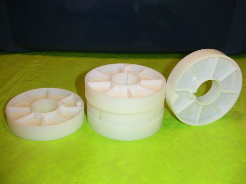 16mm 3 inch film cores for split reel use 100 quanity