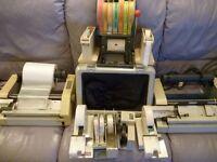 mini photo lab items,three negatives silver,dark box,size stickers & tape rollers etc,film numbers,