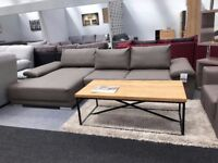 Left Hand Facing Corner artificial leather sofa with adjustable back **GREAT OFFER**