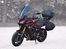 Yamaha Tracer 900 MT-09 excellent condition, under warranty, full touring