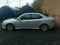 """Saab 9-3 alloys with tyres 17"""" fit 93 vectra Astra 5x110"""
