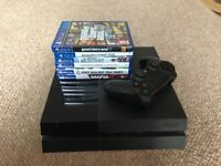 PlayStation 4 for sale & 6 games
