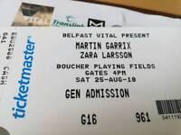 2 x tickets for Martin Garrix
