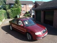 2004 '54 Skoda Superb 2.5 V6 TDI PD Elegance Tiptronic (163PS). History & 13 Month MOT £1495 ONO