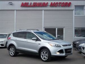 2015 Ford Escape TITANIUM AWD ECOBOOST / B-CAM  / LEATHER