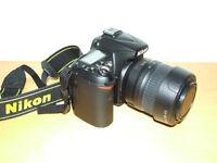 Nikon D90 12.3mp DSLR + Nikon 18-55mm zoom lens+ Accessories