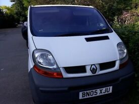 renault trafic 05,spare or repair ,not start, electrical issue