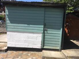 Storage shed workshop to rent